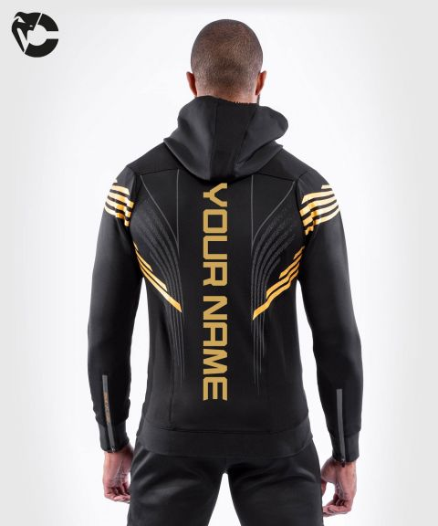 UFC Venum Gepersonaliseerd Authentic Fight Night Walkout Hoodie voor heren - Champion