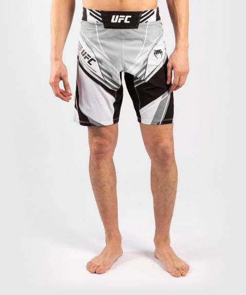 Fightshorts Uomo UFC Venum Authentic Fight Night - Vestibilità Lunga - Bianco