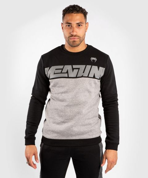 Venum Connect Crewneck Sweatshirt - Black/Heather Grey