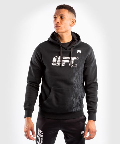 UFC Venum Authentic Fight Week Men's Pullover Hoodie - Black