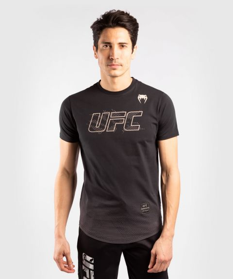 Maglia a Maniche Corte Uomo UFC Venum Authentic Fight Week - Nero