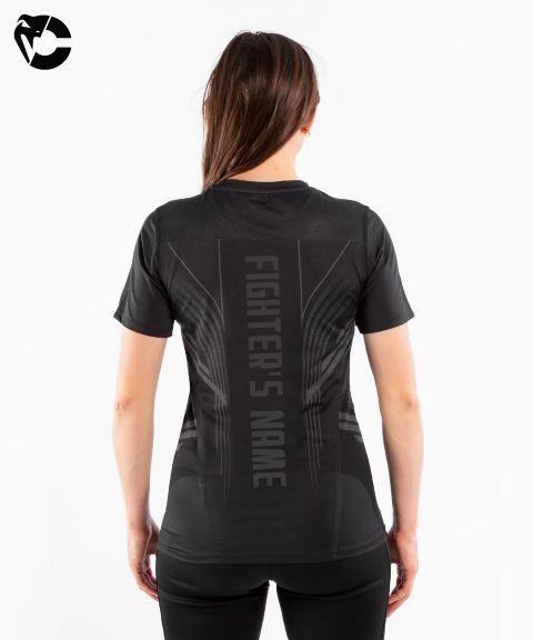 T-shirt Technique Femme Fighters UFC Venum Authentic Fight Night - Noir