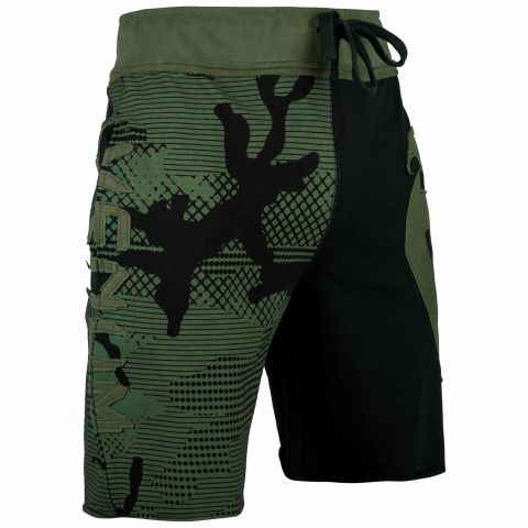 Venum Assault Trainingsshorts - Khaki/Schwarz