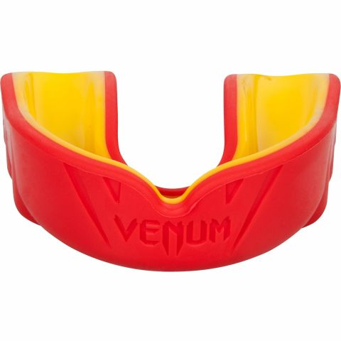 Protège-dents Venum Challenger (Blanc/Rouge/Noir) - Rouge/Jaune