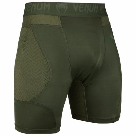 Venum G-Fit Kompressions-Shorts - Khaki