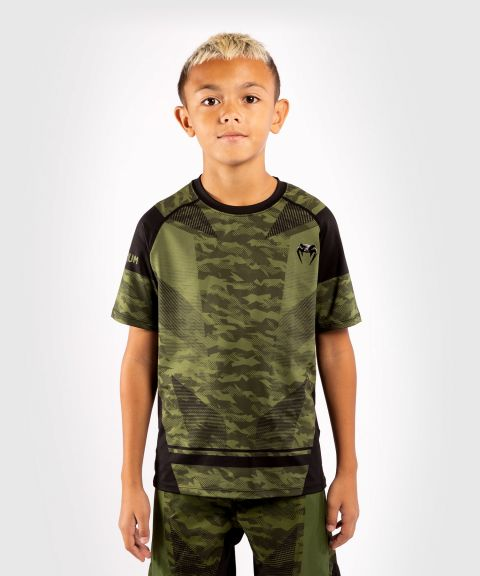 T-Shirt Enfants DryTech Venum Trooper  - Forest Camo/Noir