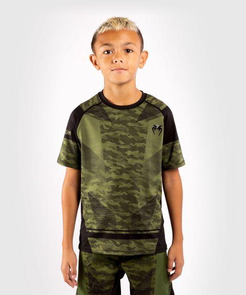 Dry-Tech Venum Trooper T-Shirt für kinder - Camo Wald/Schwarz