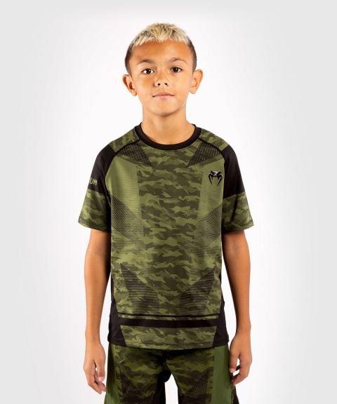 Camiseta Dry-Tech Venum Trooper para niños - Camo Bosque/Negro