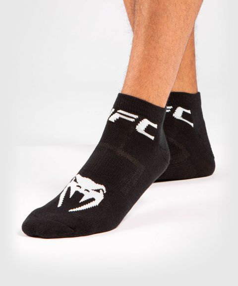 UFC Venum Authentic Fight Week Unisex Performance Socken 2er-Set - Schwarz