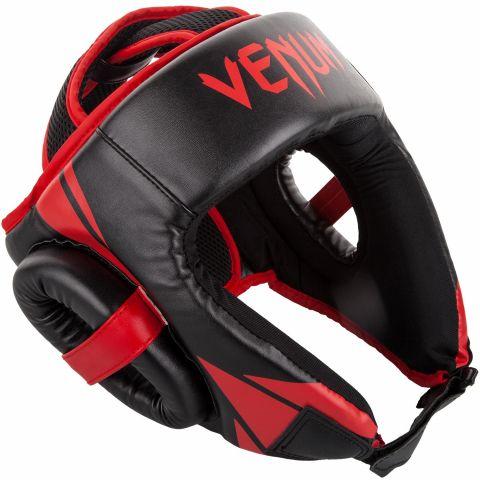 Venum Challenger Open Face Hoofddeksel - Zwart/Rood