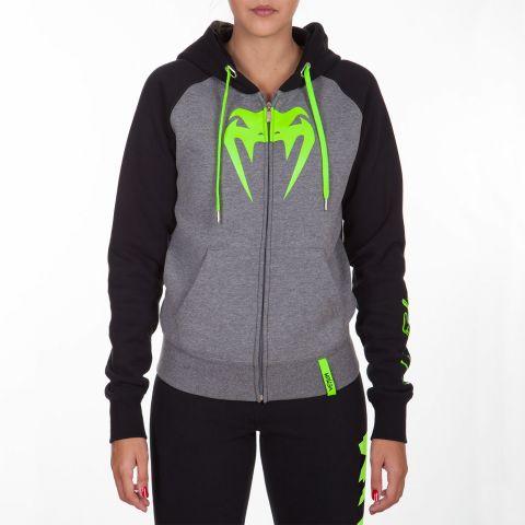 Sweatshirt Femme Venum Infinity avec zip - Logo Vert