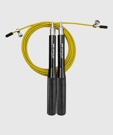 Cuerda de salto Venum Thunder Evo - Negro/Amarillo Fluo - Taille Unique