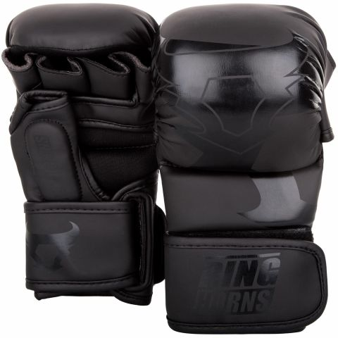 Guantes de Boxeo Ringhorns Charger Sparring - Negro/Negro