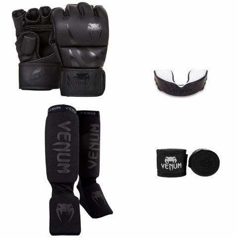 Venum MMA Challenger Bundle - Black/Black