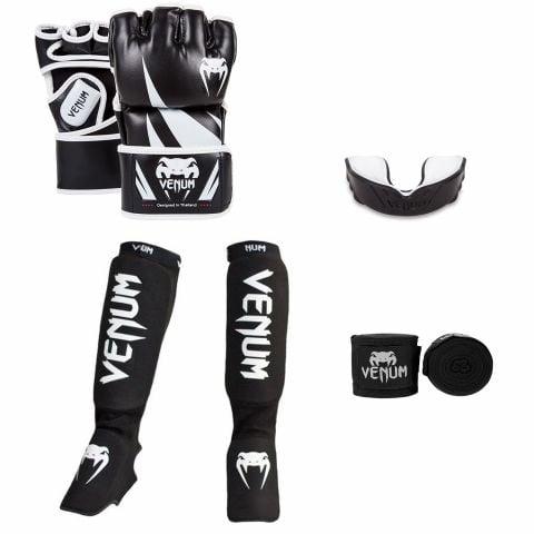 Pack MMA Venum Challenger - Noir/Blanc