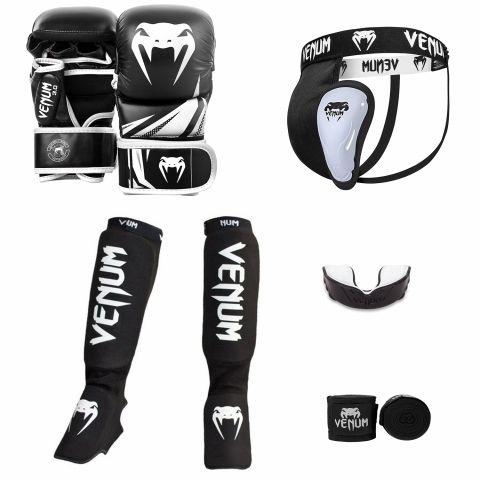 Pack MMA Venum Challenger Sparring V2 - Noir/Blanc
