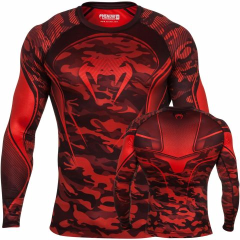 Venum Camo Hero Kompression T-Shirt