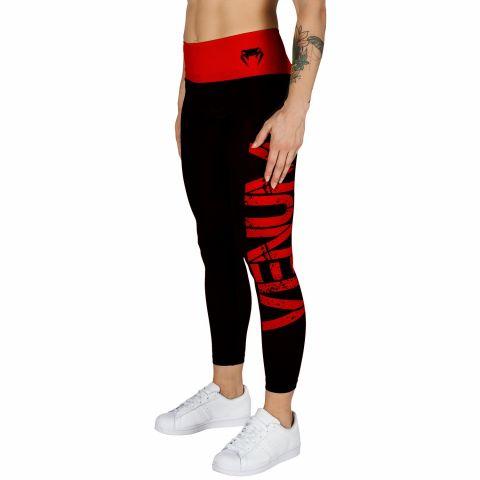 Venum Power Leggings - Black/Red