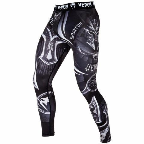 Pantaloni a compressione Venum Gladiator 3.0 - Nero/Bianco