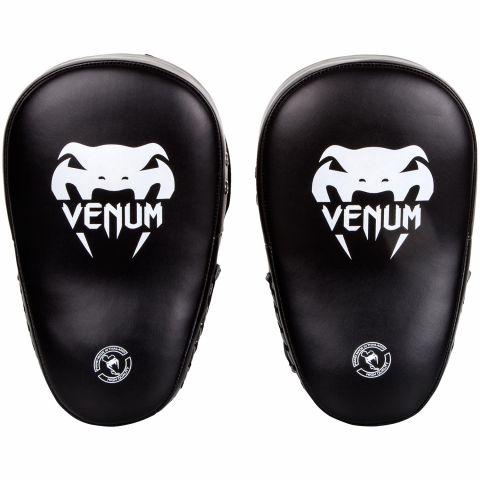 Venum Elite Big Handpratzen - Schwarz/Weiß (Paar)