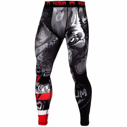 Pantaloni a compressione Venum Werewolf - Neri/Grigi
