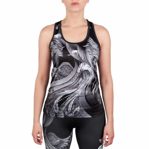 Venum Phoenix Tank Top - Black/White - For Women