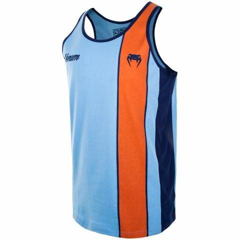 Camiseta sin Mangas Venum Cutback - Azul/Naranja