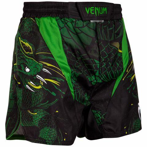 Venum Green Viper Kampfshorts - Schwarz/Grün