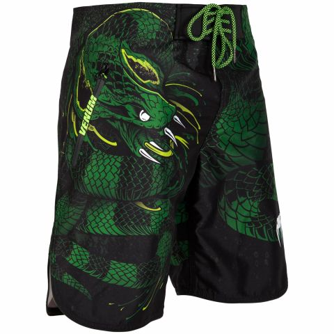 Short de bain Venum Green Viper - Noir/Vert
