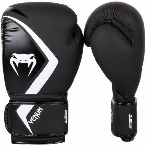 Guantoni da boxe Venum Contender 2.0 - Neri/Grigio-bianchi
