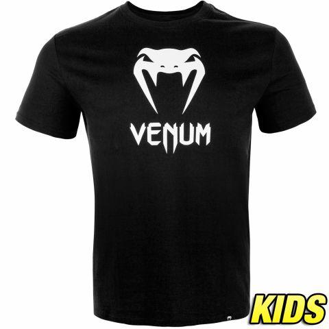 Camiseta Venum Classic - Niños - Negro