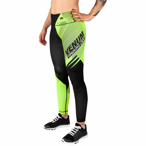 Legging Femme Venum Training Camp 2.0 - Noir/Jaune Fluo - Exclusivité