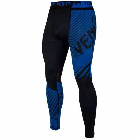 Pantaloni a compressione Venum NoGi 2.0 - Neri/Blu