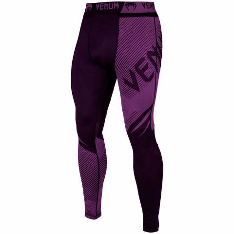 Pantaloni a compressione Venum NoGi 2.0 - Neri/Viola