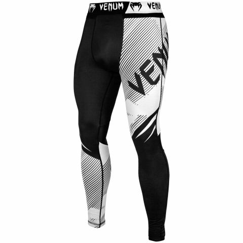 Pantaloni a compressione Venum NoGi 2.0 - Neri/Bianchi
