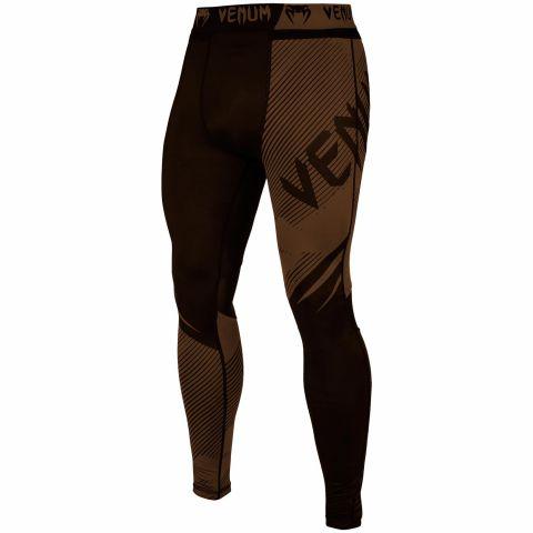 Pantaloni a compressione Venum NoGi 2.0 - Neri/Marroni