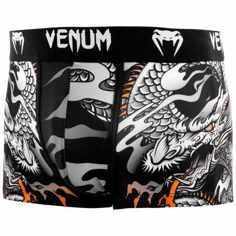 Boxer Venum Dragon's Flight - Noir/Blanc