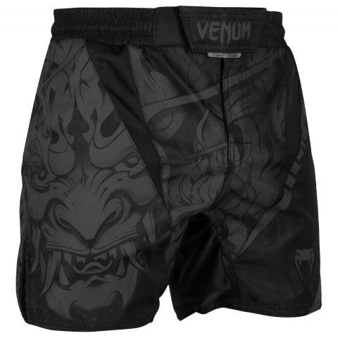Pantaloncini da combattimento Venum Devil - Neri/Neri
