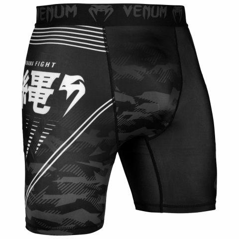 Venum Okinawa 2.0 Kompressionsshort - Schwarz/Weiß
