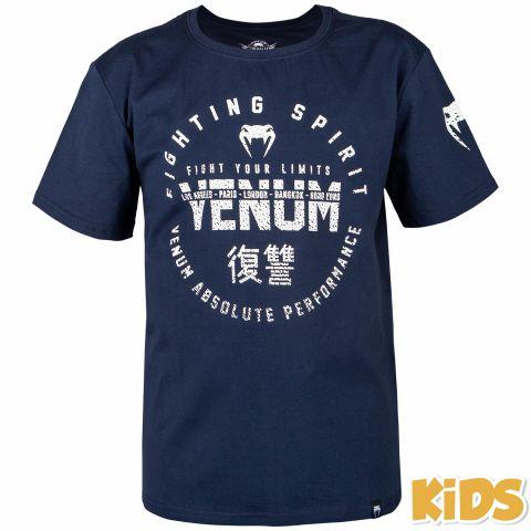 Camiseta para niños Venum Signature - Azul Marino