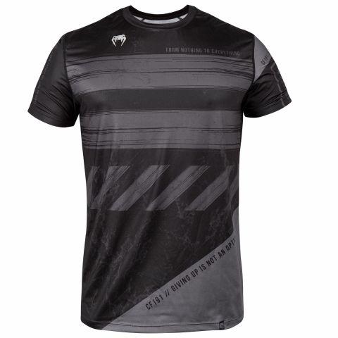Venum AMRAP Dry-Tech T-shirt - Zwart/Grijs