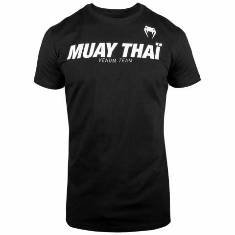 T-shirt  Muay Thai VT Venum - Nero/Bianco