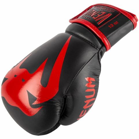 Venum Giant 2.0 Pro Boxing Gloves - Velcro - Black/Red