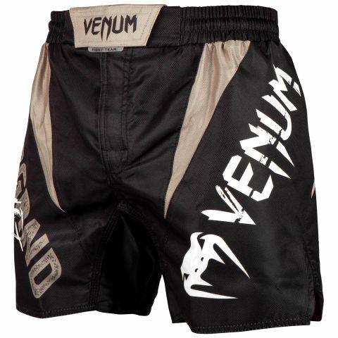 Fightshort corto Venum Underground King - Nero/Sabbia