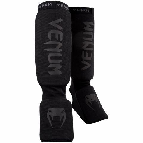 Espinilleras Venum Kontact - Negro/Negro