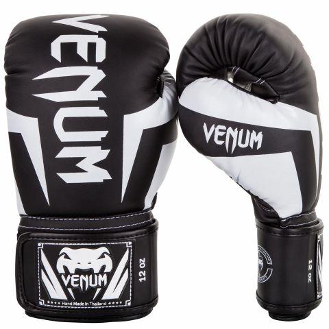 Venum Elite Bokshandschoenen - Zwart/Wit