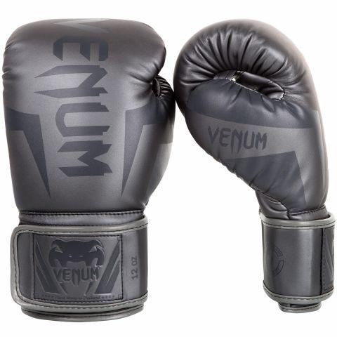 Guantoni da boxe Venum Elite - Grigio/Grigio
