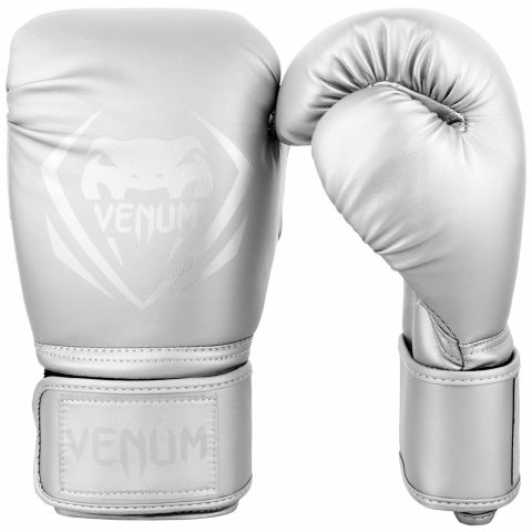 Gants de boxe Venum Contender-Argent/Argent
