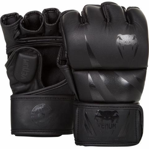 Guantes MMA Venum Challenger - Negro/Negro Matte