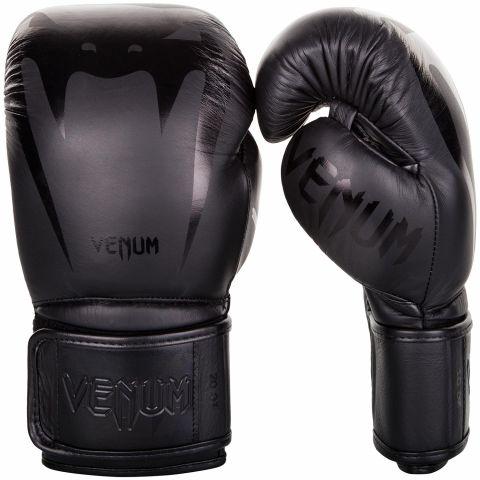 Venum Giant 3.0 Bokshandschoenen - nappaleer - zwart/zwart
